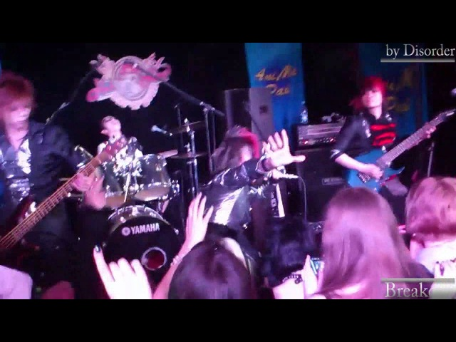 PLUNKLOCK Breakout 藍色リグレット Aiiro regret Live in Moscow 24 02 2012
