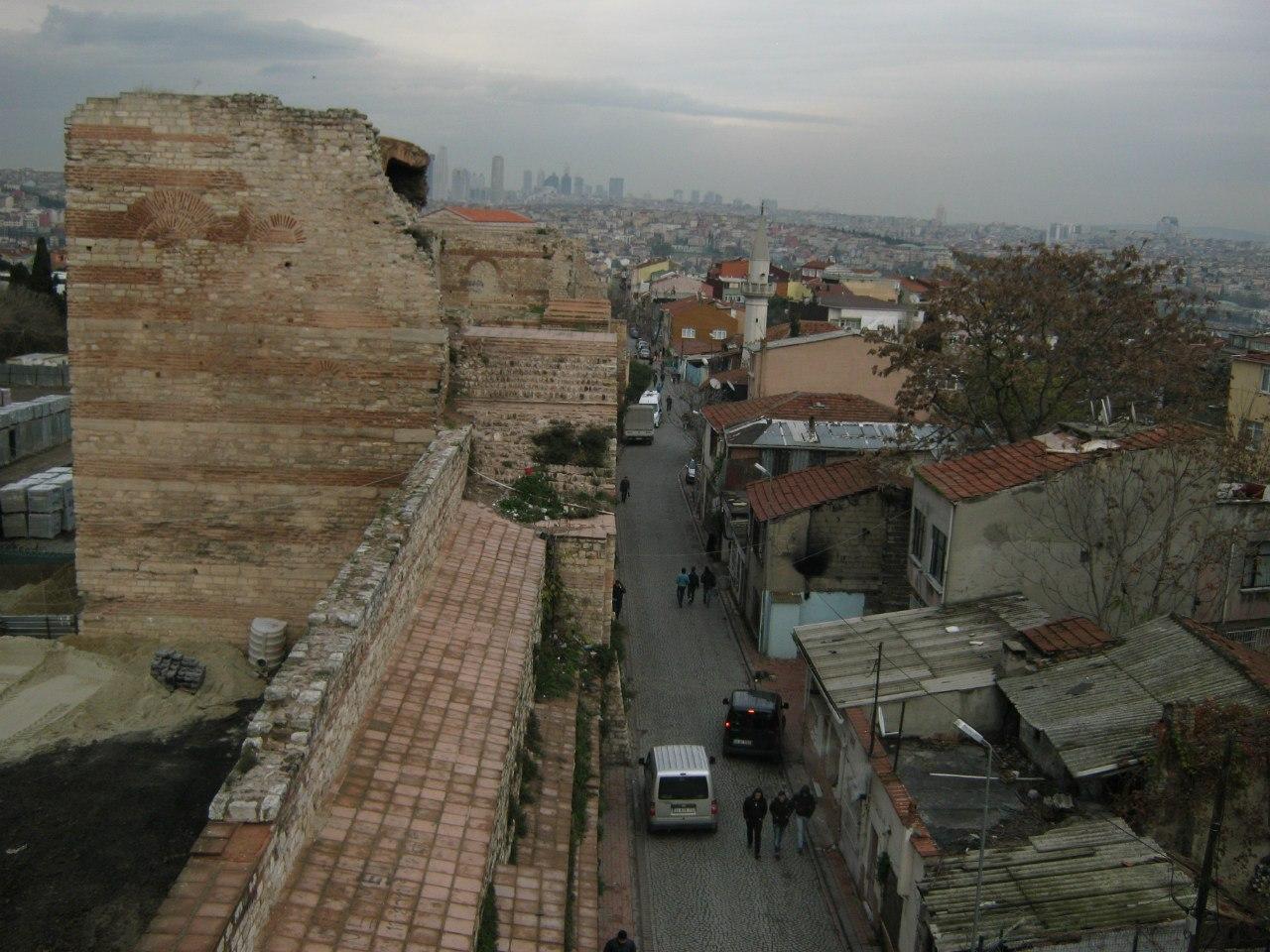 Крепостные стены Стамбула