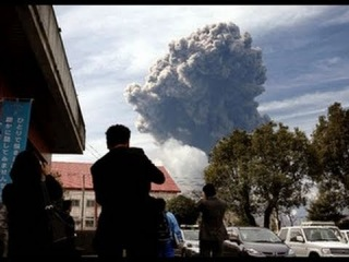 Japanese Volcano Erupts NEW RAW VIDEO - Shinmoedake - 2011