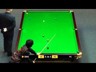 Ding Junhui Incredible Snooker To Steal Frame vs Marco Fu - 2011 Masters