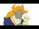Ева и Персидаль|Красавица и чудовище|Клип