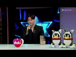 171203 EXO LAY ZHANG YIXING   Tencent Video Star Award: Backstage Interview