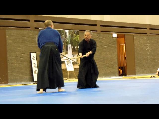 Demo Tenshin Shoden Katori Shinto Ryu (Aikidofestijn 2018)[Deel 2]