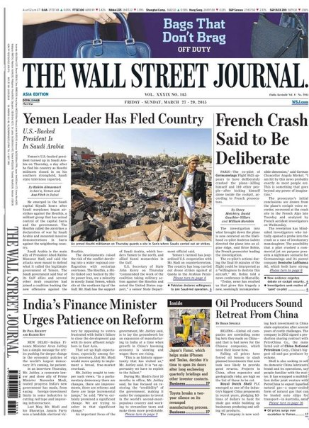 The Wall Street Journal Asia 27 29 March 2015