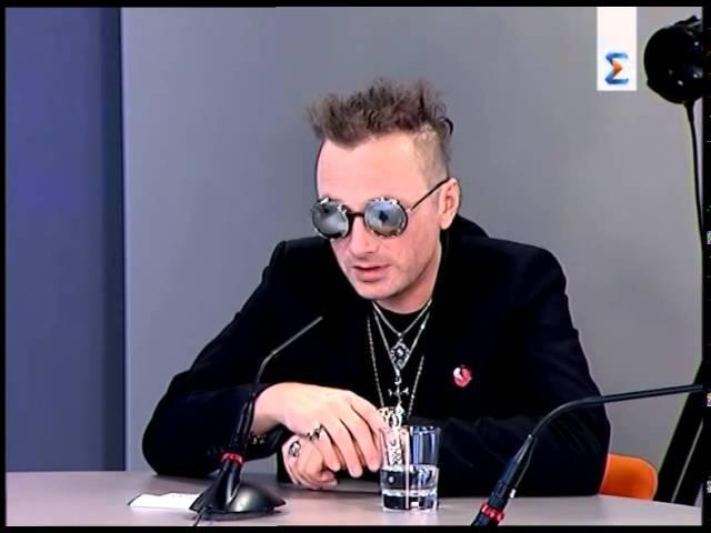 Глеб Самойлов в программе Музыкальная пятница на ЕТВ