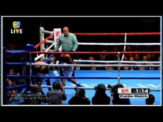 Roman Gonzalez vs Rocky Fuentes - final round and KO