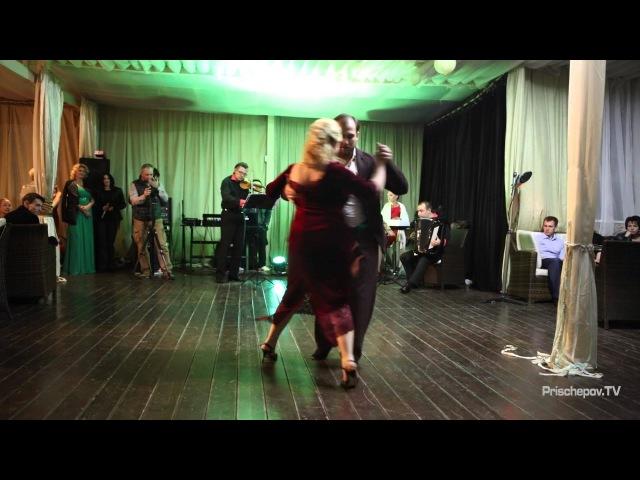 Дмитрий Лиферов и Алена Писарева, Russian Tango Congress N1, Prischepov TV - Tango Channel