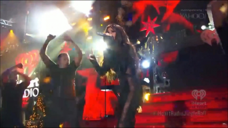 Selena Gomez Same Old Love Good For You LYLALS Hands To Myself KEWK iHeartRadio Z100 Jingle Ball