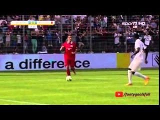 Mario Gomez Goal - Sami's All Stars vs Khedira's Eleven 2-3 - Friendly - 14/06/2015