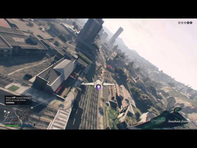GTA V Jet minimontage PS4 AscOOl Gaming