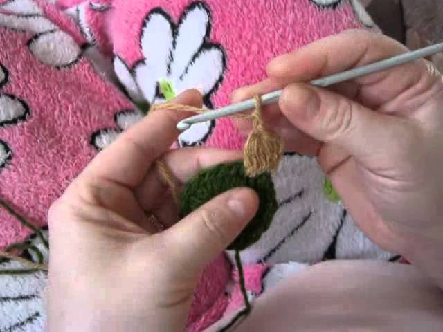 Видеоурок по вязанию крючком Пышный столбик