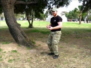 Systema israel: Sharon Friedman  Military oriented drills: walking stealth and silhouette control