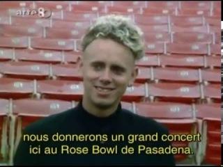 Depeche Mode 101 Rose Bowl Pasadena (Arte Summer Of The 80s trad FR)
