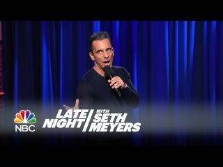Sebastian Maniscalco Stand-Up Performance - Late Night with Seth Meyers