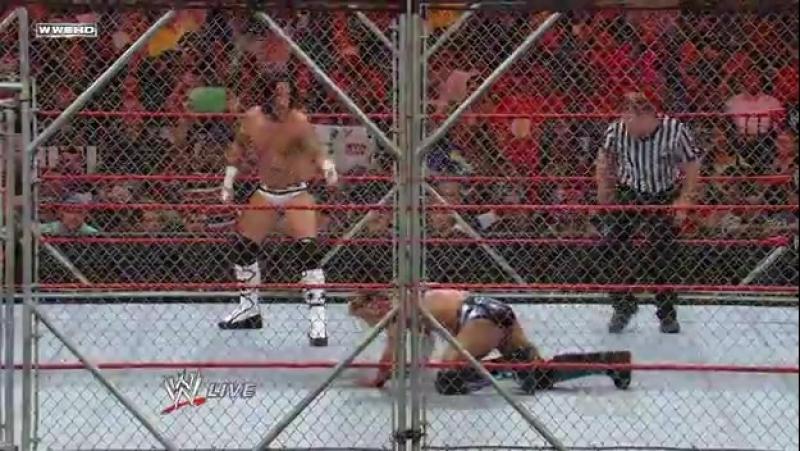 (WWEWM) WWE RAW 15.09.2008 - Chris Jericho (c) vs. CM Punk (Steel Cage Match for the World Heavyweight Championship)