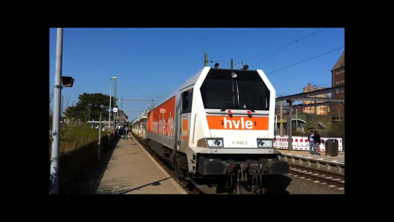 Starkste Dieselhydraulische Lokomotive der Welt 3mal Voiht Maxima HVLE grau