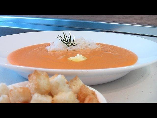 Суп пюре из моркови видео рецепт Книга о вкусной и здоровой пище