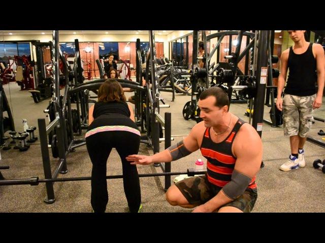 РУМЫНСКАЯ ТЯГА СТАНОВАЯ ТЯГА на ПРЯМЫХ ногах лучшее упражнения для ЯГОДИЦ и БИЦЕПСА БЕДРА
