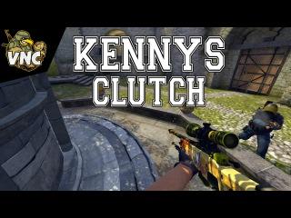 CS:GO - kennyS Clutch x TSM [IEM Gamescom 2015 Final]