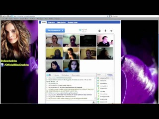 Eliza Dushku Chats With Fans On TinyChat