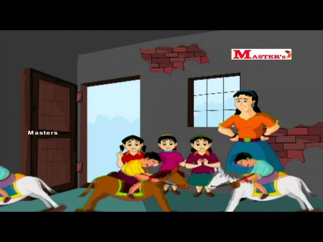 Aadum Kudhirai Tamil Animation Video for Kids