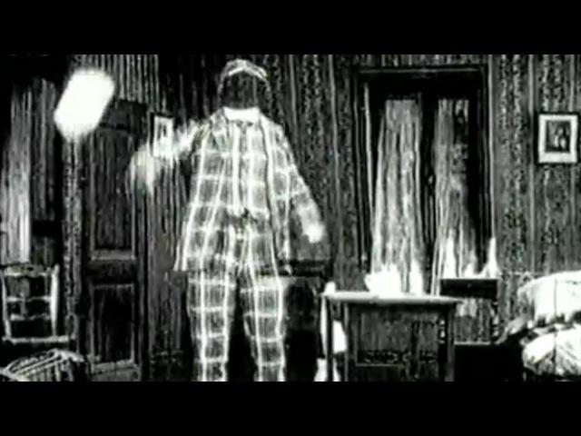 Вор невидимка Le Voleur invisible 1909 ретро на Tvzavr