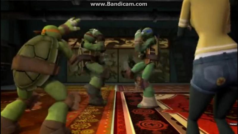 Teenage ass kicking ninja turtles