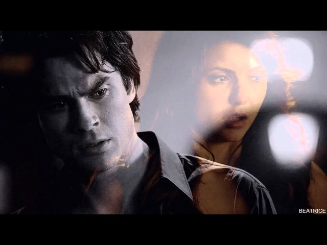 Damon and Elena   say something