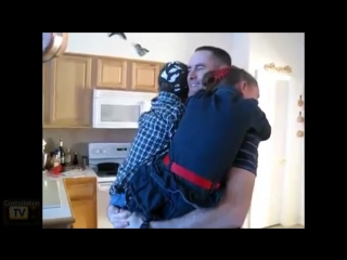 Soldiers coming home surprise compilation 14