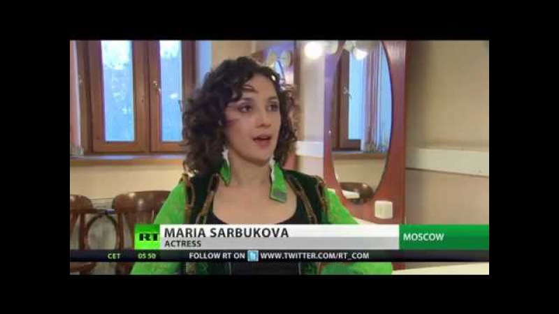 RTTV on Hamlet Tochka G at Moscow Luna Theatre