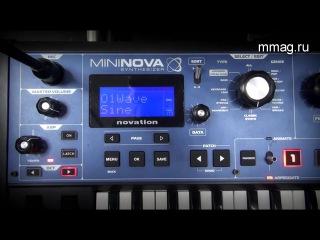 Novation Mininova - детальный обзор секции синтеза