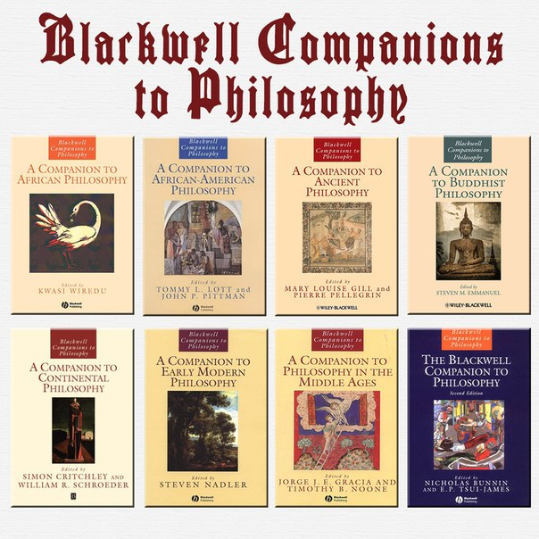 A Companion to African Philosophy