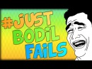 JUST BODIL FAILS Minecraft Parkour