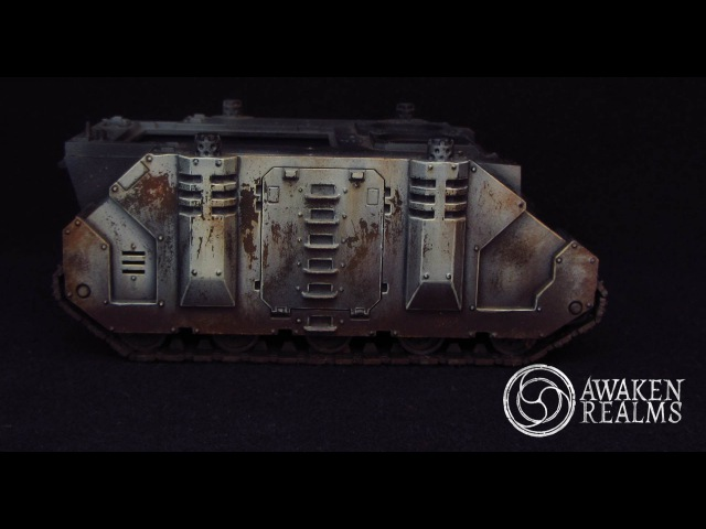 How to paint Weathering effects HD Tutorial