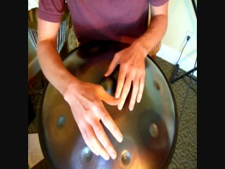 Handpan How To - 6 Count Ding Rumble