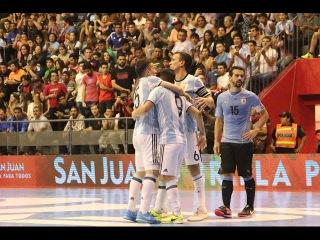 #CopaAmericafutsal Argentina vs Uruguay - Semifinal