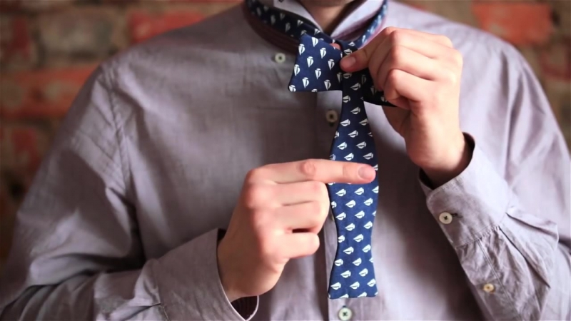 Как завязать галстук-бабочку [RomVit]