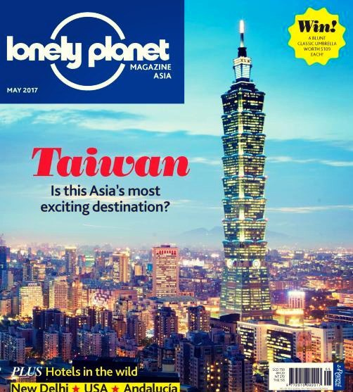 Lonely Planet Asia May 2017