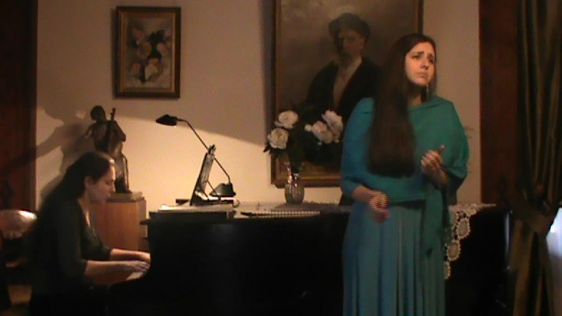 Моцарт Свадьба Фигаро Porgi amor Алиса Лубенко 2015