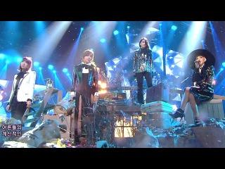  Выступление  2NE1 - MISSING YOU @SBS Inkigayo.
