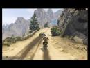 ГТА 5 Гонки на мотоциклах Утесы Каньона ПЕРВОЕ место Motorcycle Racing Canyon Cliffs