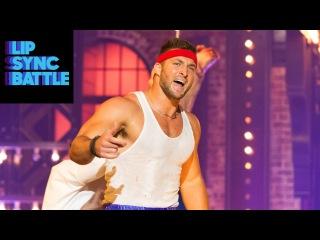"Tim Tebow as Rocky Balboa performs Survivor's ""Eye of the Tiger""   Lip Sync Battle"