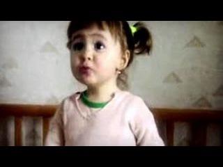 Девочка ругает родителей.  Детские приколы.  Смешное видео.