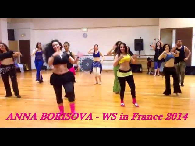 ANNA BORISOVA - Edeni Albak - Workshop in France 2014