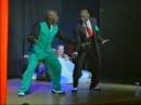 Frankie Manning, Chazz Young, Shim Sham dance