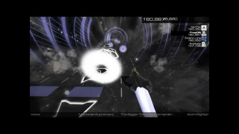 Audiosurf 2; The Bigger They Are The Harder They Fall
