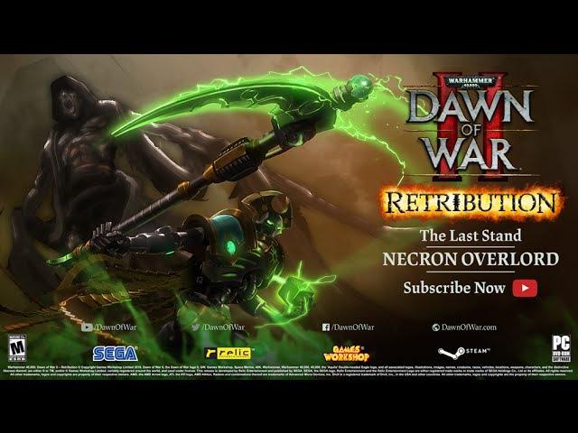 Last Stand Necron Overlord Warhammer 40 000 Dawn of War II Retribution
