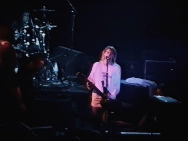 Nirvana - 11/23/1991 - Ghent, Belgium - [50fps/TaperAudio/VidRemix] - [Full Show] (Rarities)