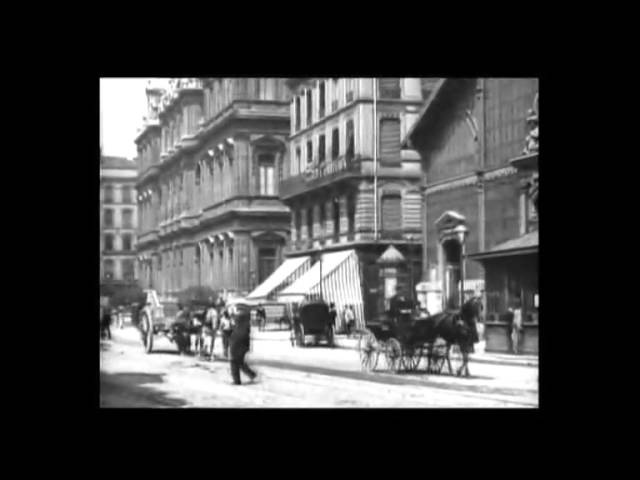 Площадь Корделье в Лионе La Place des Cordeliers à Lyon 1895
