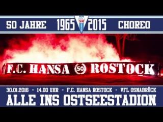 Choreo - 50 Jahre Hansa Rostock